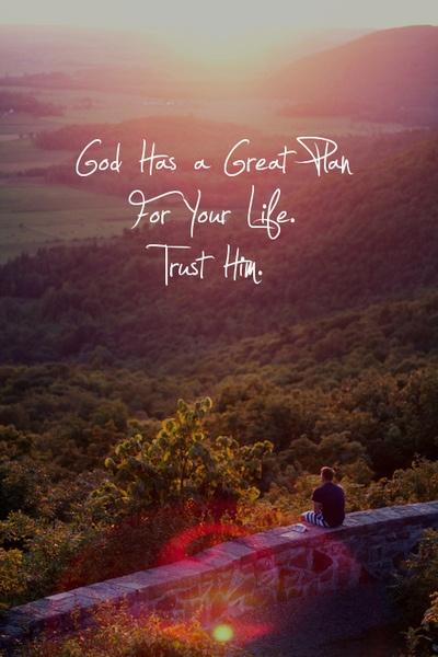 God's blessings – God=Love